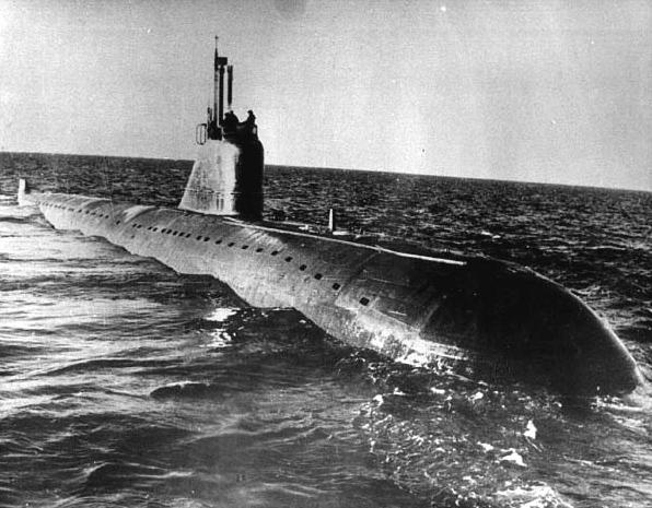 Атомные подводные лодки пр.627