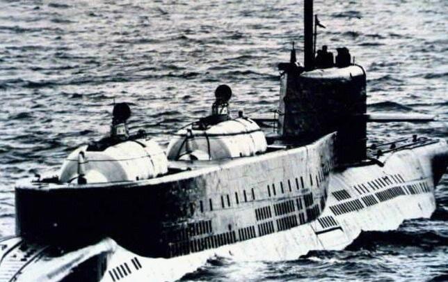 дизельная лодка с-178
