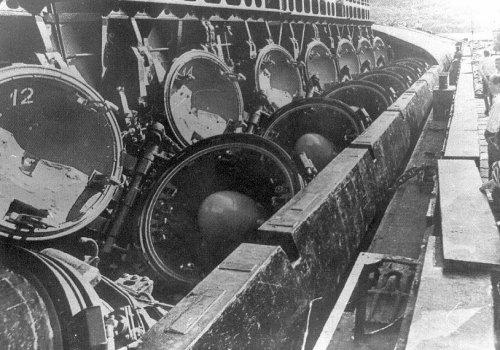 Атомные подводные ракетные крейсера