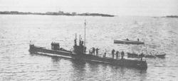 """Подводная лодка проекта """"Минога"""""""